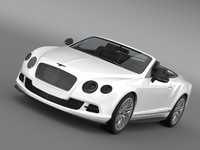 Bentley Continental GT Speed Convertible 2012