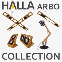 Halla Arbo Lamp Collection (5 Items)