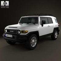 3d model toyota fj cruiser 2011
