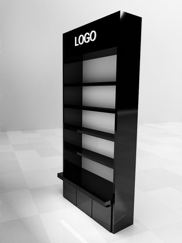 3d model stand display dis