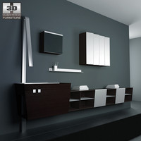 bathroom furniture 05 set max