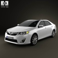 toyota camry 2012 version 3d max