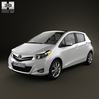 fbx toyota yaris 5door 2012