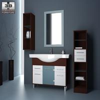 bathroom 06 set 3ds