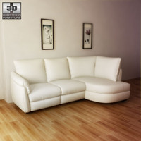 IKEA ALVROS sofa - 3D Model.