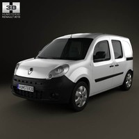 Renault Kangoo Van 2 Side Doors Glazed 2011
