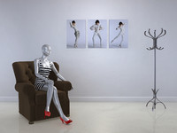 mannequin display 3d model