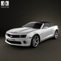 3d chevrolet camaro 2ss rs model