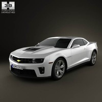 3d chevrolet camaro zl1 2011 model
