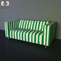 IKEA KLIPPAN sofa - 3D Model.