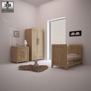 nursery room furniture 09 obj