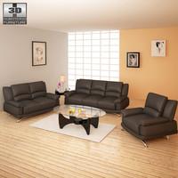 living room furniture 09 3d 3ds