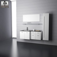 3ds max bathroom furniture 09 set