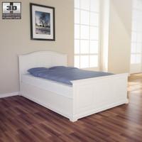 IKEA BIRKELAND Bed - 3D Model.