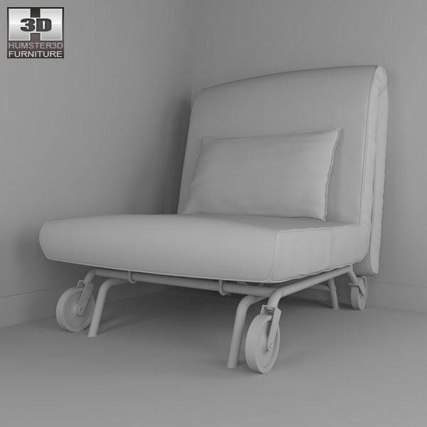 Ikea Ps Lovas Chair Bed C4d