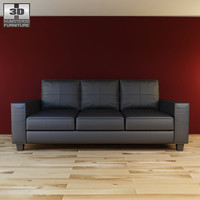 3d model ikea skogaby sofa -
