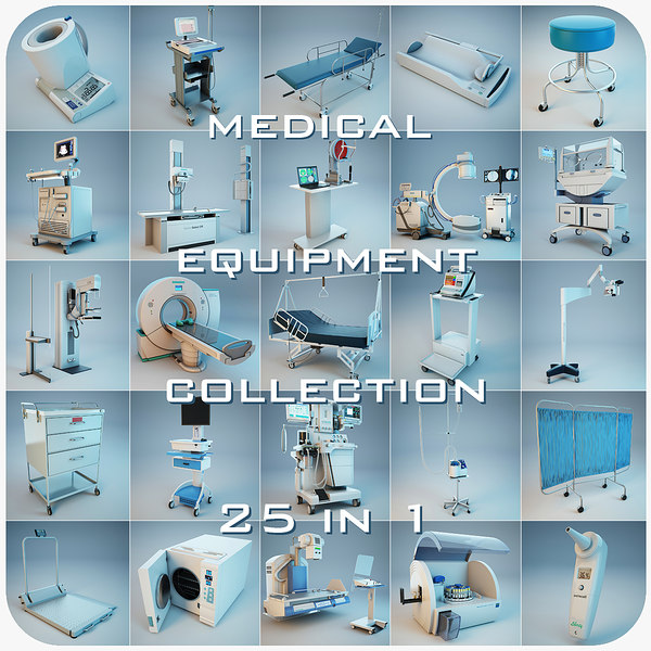 medical equipment 25 1 3ds