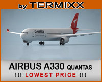 3d airplane airbus a330 qantas model