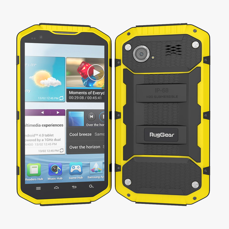 rug rg smartphone outdoor 3d 3ds