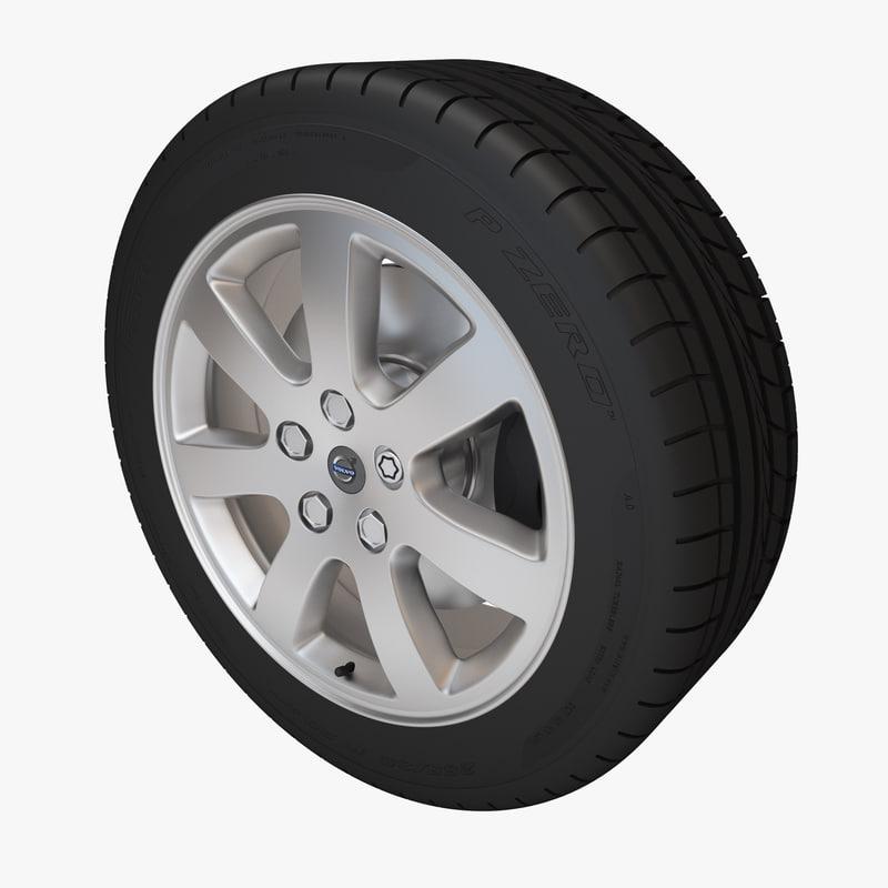 3d max v60 wheel rim oden