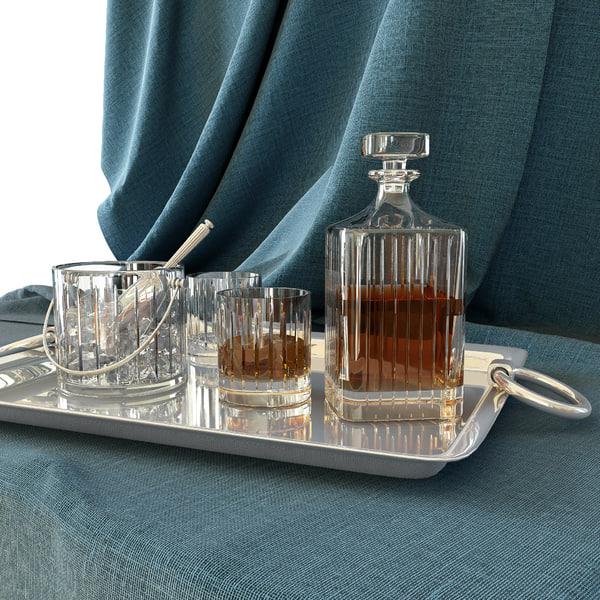 maya whiskey tray