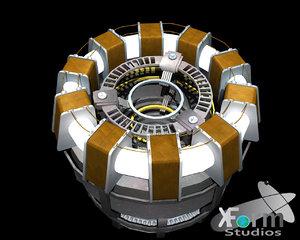 obj iron man arc reactor