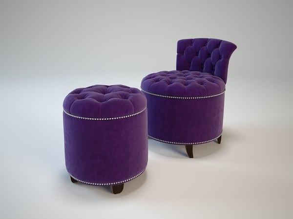 max greta garbo eichholtz stool