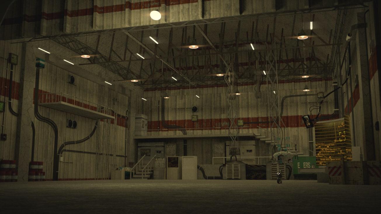 3d hangar robot