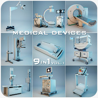 3d model of medical devices 9 1