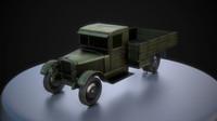 Soviet Cargo Truck