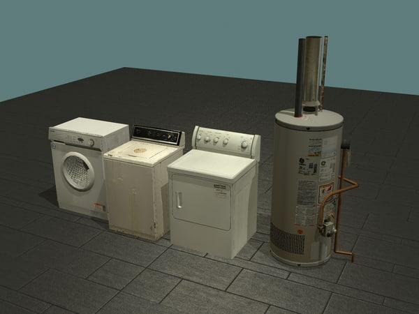 max set appliances washers dryers