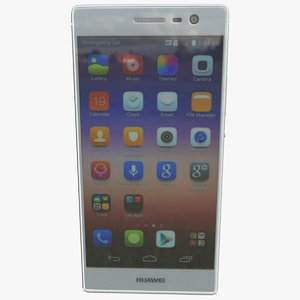 3d model huawei ascend p7