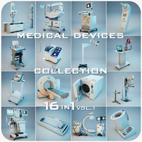 Medical Devices Collection 16 in 1 vol.1