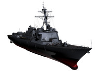 3ds max arleigh burke ddgs navy ships