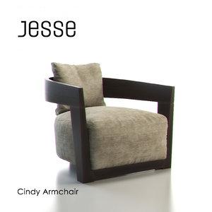 max jesse cindy armchair