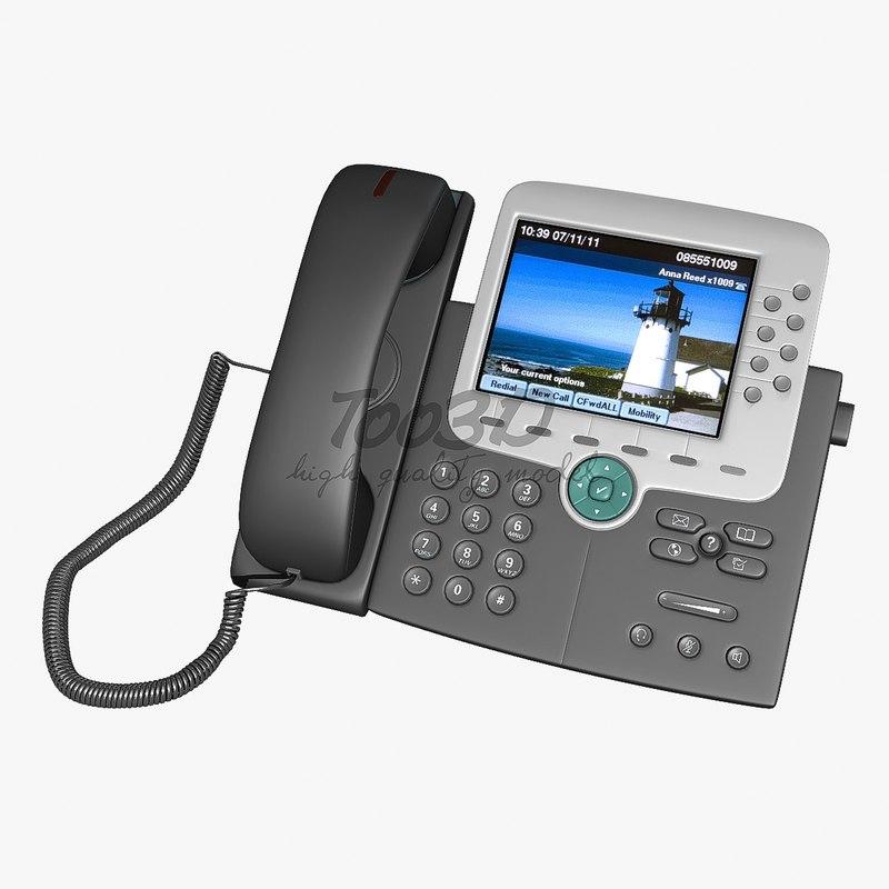 3d ip phone