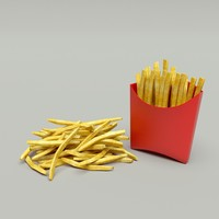 3ds max fries