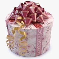gift box 03 3d model