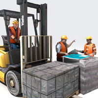 forklift workers max