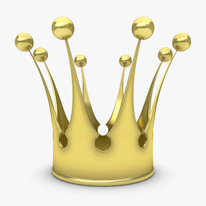 3d model of crown 1
