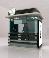 Public Cabinet Kiosk