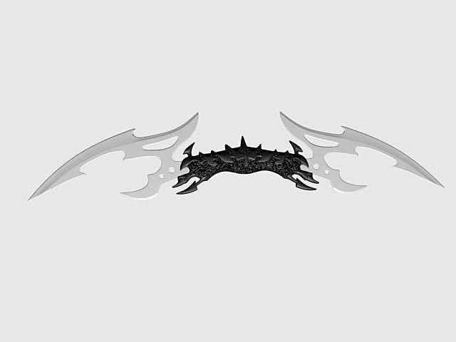 3d dagger model