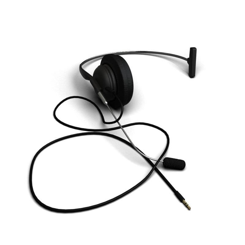 3dsmax headset