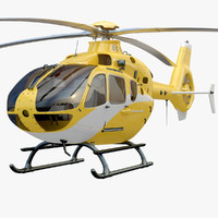 Eurocopter EC 135 Yellow