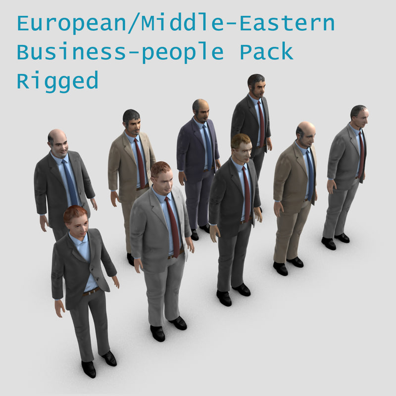 3dsmax european middle eastern