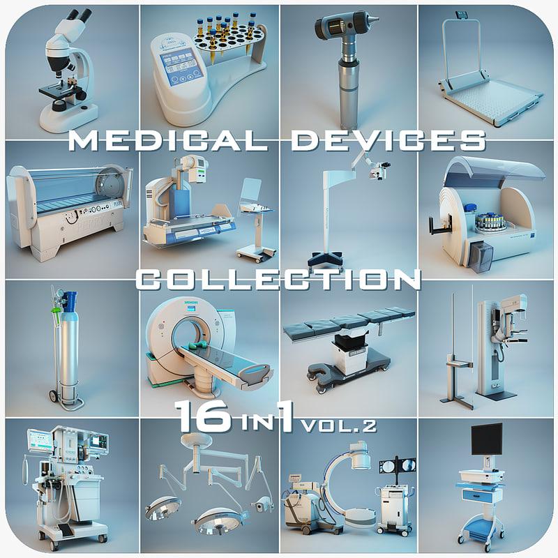 medical devices 16 1 3d model