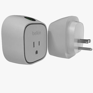 3d model belkin wemo insight switch