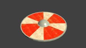 3ds max viking shield