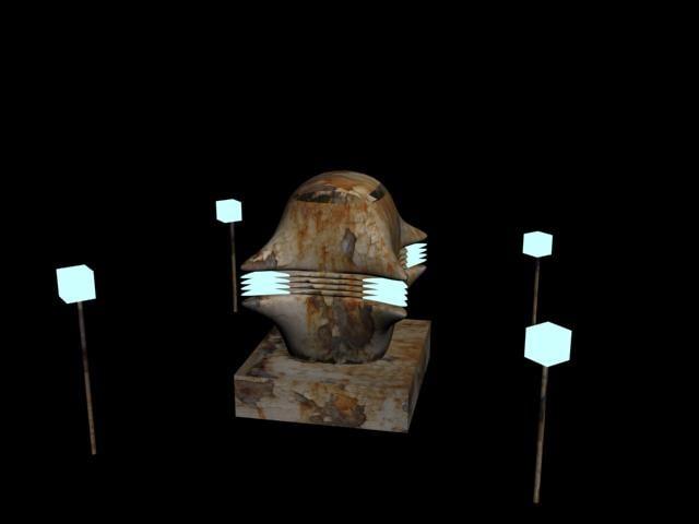 cannon plasma sci-fi 3d obj