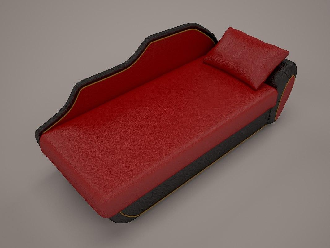 simple sofa 3d model